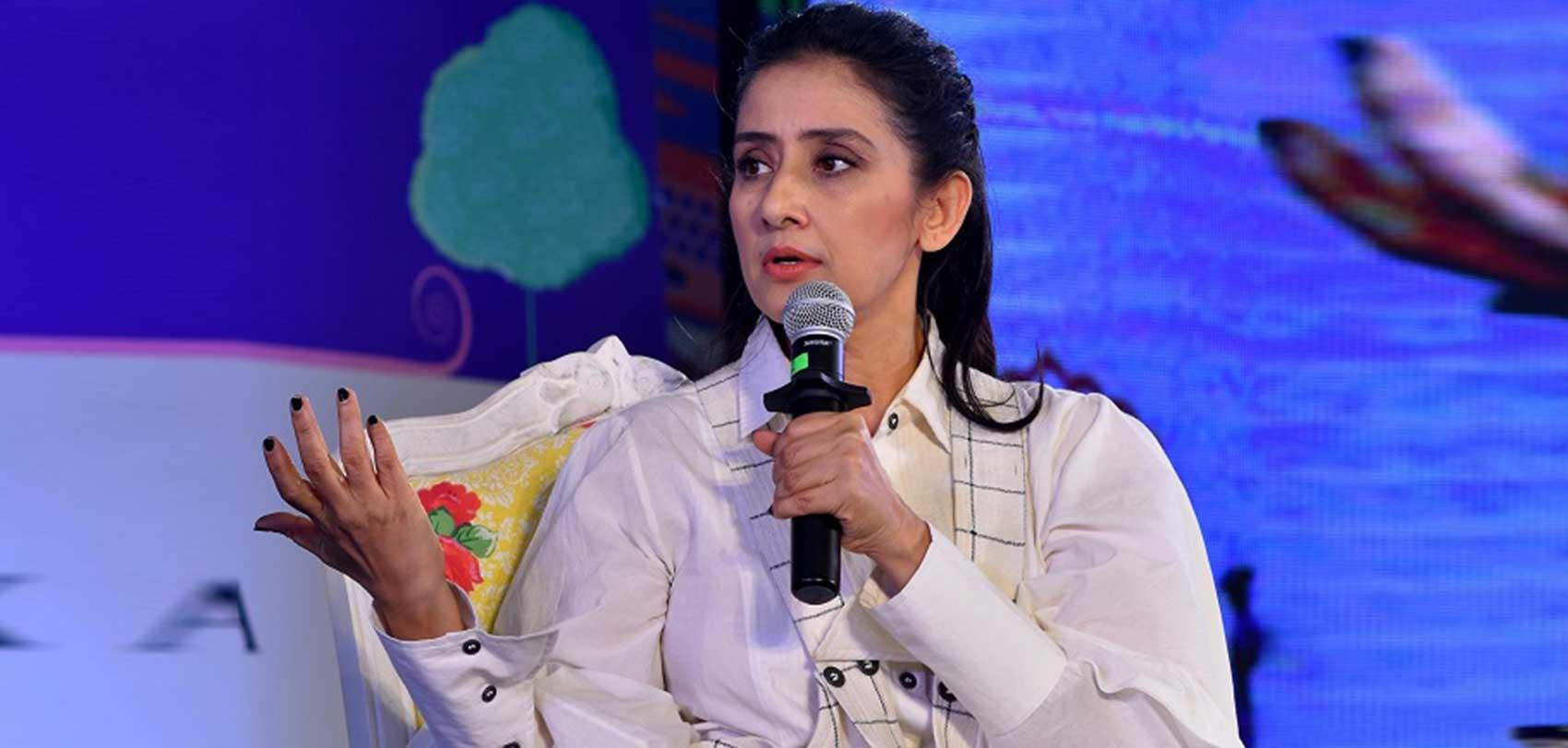 अभिनेत्री मनीषा कोइराला
