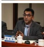 चाइना–नेपाल फ्रेन्डसिप मेडिकल रिसर्च सेन्टरका निर्देशक प्रा.डा.राजिवकुमार झा।